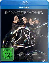 Cover Die Fantastischen Vier - Live In 3D [DVD]